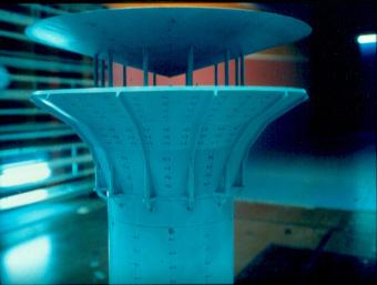 Etude du tirage d'une cheminée isolée dans la soufflerie S10