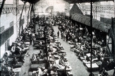 Réquisition des locaux de l'IAT pendant La Grande Guerre