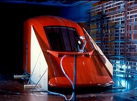 Optimisation de la forme d'une cabine de locomotive dans la soufflerie S10