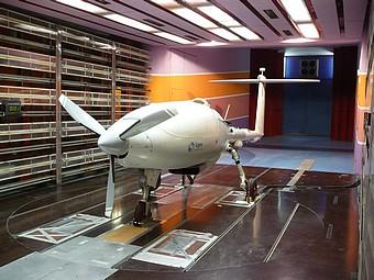 Caractérisation du drone Patroller à l'echelle 1/1 (Sagem, groupe Safran) dans la soufflerie S10