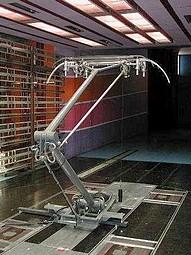 Mesure de la portance et de la trainée d'un pantographe à l'échelle 1/1 dans la soufflerie S10