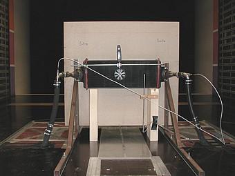 Banc radiateur de la soufflerie S10