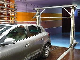 Banc de tomographie dans la soufflerie S10: exploration du sillage d'un véhicule automobile à l'échelle 1/1